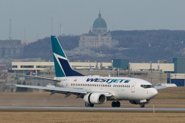 Classic Montreal landing.